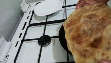 Photo de Pâte Mhadjeb sans pétrissage