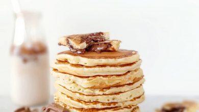 Photo de Des pancakes fourrés au Nutella , ultra-gourmands