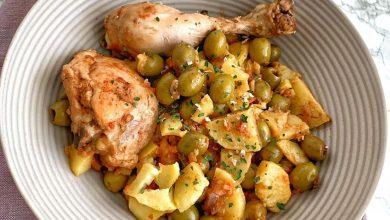 Photo de Djouaze olive poulet et frittes
